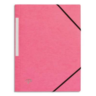 Chemise 1er prix 3 rabats et élastique - carte 5/10e - rose clair (photo)