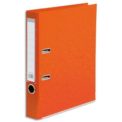 Classeur à levier 1er prix - polypropylène - dos 5 cm - A4 - orange