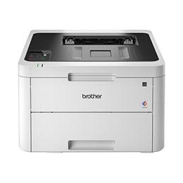 Brother HL-L3230CDW - Imprimante - couleur - Recto-verso - LED - A4/Legal - 2400 x 600 ppp - jusqu'à 18 ppm (mono) / jusqu'à 18 ppm (couleur) - capacité : 250 feuilles - USB 2.0, LAN, Wi-Fi(n) (photo)