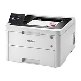 Brother HL-L3270CDW - Imprimante - couleur - Recto-verso - LED - A4/Legal - 2400 x 600 ppp - jusqu'à 24 ppm (mono) / jusqu'à 24 ppm (couleur) - capacité : 250 feuilles - USB 2.0, LAN, Wi-Fi(n), NFC (photo)