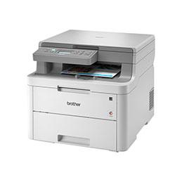 Brother DCP-L3510CDW - Imprimante multifonctions - couleur - LED - 215.9 x 300 mm (original) - A4/Legal (support) - jusqu'à 18 ppm (copie) - jusqu'à 18 ppm (impression) - 250 feuilles - USB 2.0, Wi-Fi(n) (photo)