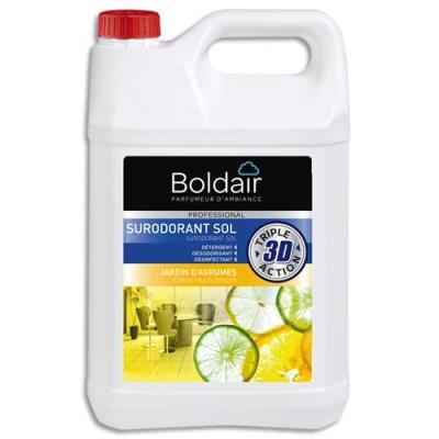 Détergent désodorisant désinfectant Boldair - parfum jardin d'agrumes - 5L (photo)