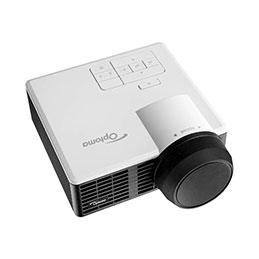 Optoma ML1050ST - Projecteur DLP - LED - 3D - 1000 lumens - WXGA (1280 x 800) - 16:10 - objectif fixe à focale courte (photo)