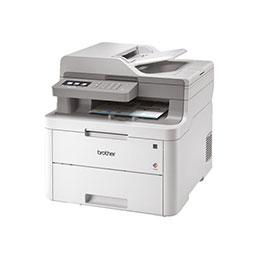 Brother DCP-L3550CDW - Imprimante multifonctions - couleur - LED - 215.9 x 355.6 mm (original) - A4/Legal (support) - jusqu'à 18 ppm (copie) - jusqu'à 18 ppm (impression) - 250 feuilles - USB 2.0, LAN, Wi-Fi(n) (photo)