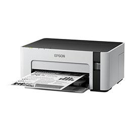 Epson EcoTank ET-M1120 - Imprimante - monochrome - jet d'encre - Refillable - A4/Legal - 1 440 x 720 ppp - jusqu'à 32 ppm - capacité : 150 feuilles - USB 2.0 (photo)