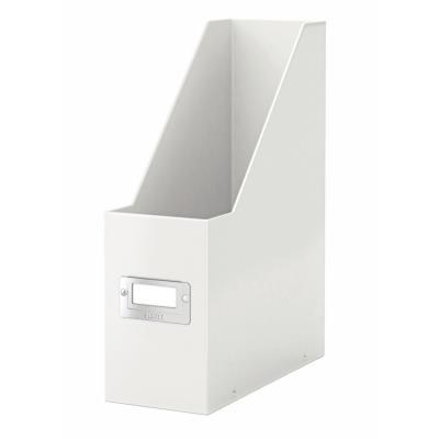 Porte-revues Leitz Click & Store - L103xH330xP 253mm - Blanc