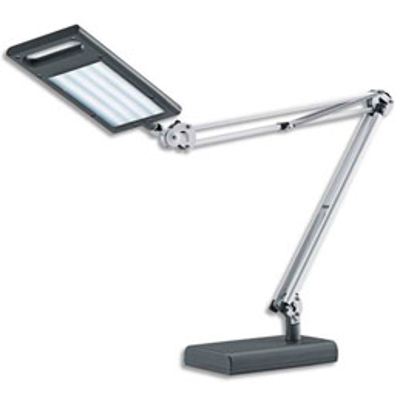 Lampe de bureau à led Hansa Led 4 work - socle ou pince - 8W - anthracite