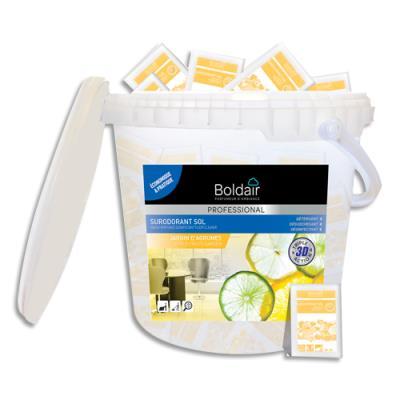Détergent désodorisant désinfectant Boldair - parfum jardin d'agrumes - dosettes de 20ml - boîte de 100 doses (photo)