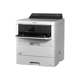 Epson WorkForce Pro WF-C529RDTW EPP - Imprimante - couleur - Recto-verso - jet d'encre - A4/Legal - 4 800 x 1 200 ppp - jusqu'à 24 ppm (mono)/jusqu'à 24 ppm (couleur) - capacité : 830 feuilles - USB 2.0, Gigabit LAN, Bluetooth, Wi-Fi(n), hôte USB 2.0