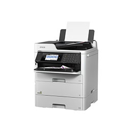 Epson WorkForce Pro WF-C579RDTWF EPP - Imprimante multifonctions - couleur - jet d'encre - 215.9 x 355.6 mm (original) - A4/Legal (support) - jusqu'à 22 ppm (copie) - jusqu'à 34 ppm (impression) - 830 feuilles - 33.6 Kbits/s - USB 2.0, Gigabit LAN, Bluetooth, Wi-Fi(n), hôte USB2.0 (photo)