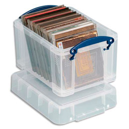 Bo te de rangement en plastique transparent avec couvercle - Boite de rangement en plastique pas cher ...