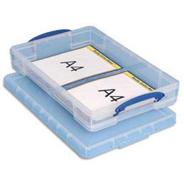 Bo te de rangement en plastique transparent avec couvercle - Bac de rangement plastique avec couvercle pas cher ...