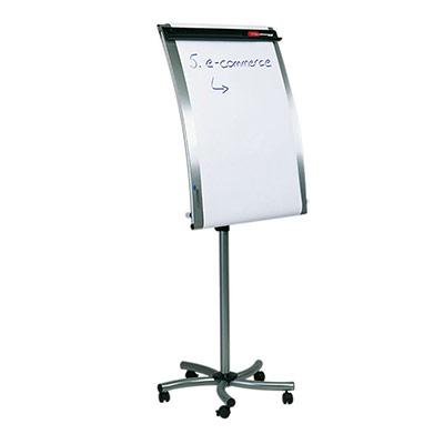 Chevalet de conférence Legamaster Silvertec - 700 x 1 030 mm - argenté (photo)