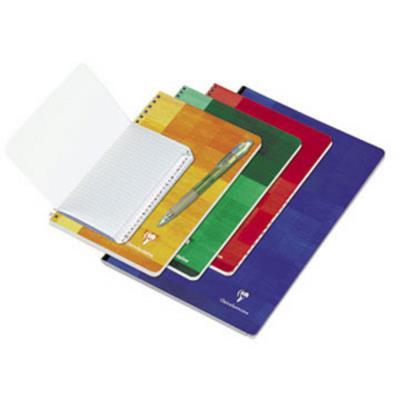 Répertoire Conquérant 7 - spirale - 70 g - couverture carte couchée vernie - A4 21 x 29,7cm - 180 pages