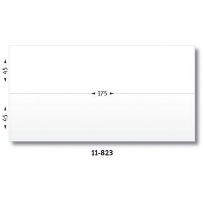 Etiquettes d'affranchissement 2 fronts - format 17,5 x 4,5 cm - boîte de 1000