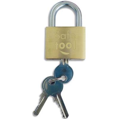 Cadenas à clés en laiton pour exterieur 2 clés 30 mm