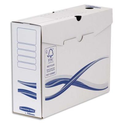 Boîtes à archives Bankers Box Basique - dos 10 cm - montage manuel - carton recyclé - lot de 10