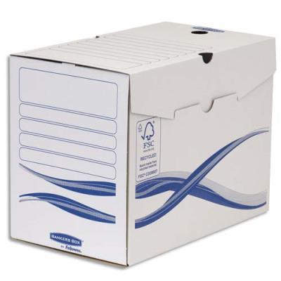 Boîtes à archives Bankers Box Basique - dos 20 cm - montage manuel - carton recyclé - lot de 10