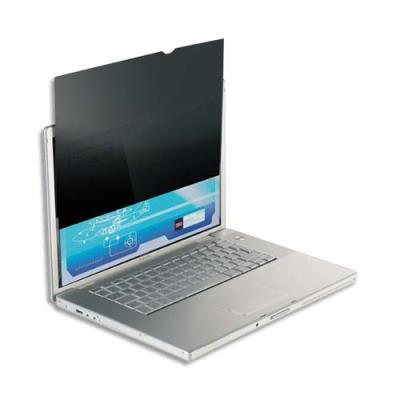 Filtre de confidentialité noir 3M pour moniteurs et écrans LCD 22'' - format 16/10 (photo)