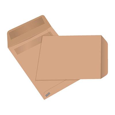 Pochette kraft - format C5 - 162 x 229 mm - 90 g/m² fermeture autocollante - paquet 50 unités (photo)