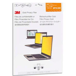 3M GOLD Privacy Filters GPF12.5W9 - Filtre de confidentialité pour ordinateur portable - largeur de 12,5 pouces (photo)