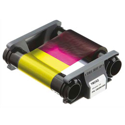 Ruban couleur YMCKO Badgy pour 100 impressions (photo)