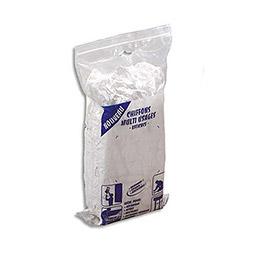 Chiffons textile multi-usages - blancs - sac de 5kg (photo)