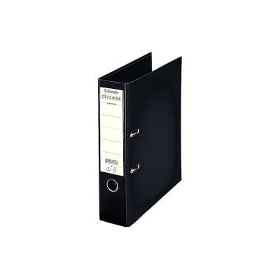 Classeur à levier Chromos Plus - dos 8 cm - plastifié intérieur et extérieur - noir