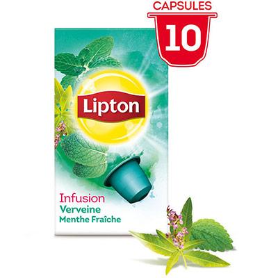 Infusion Verveine menthe Fraîche - 10 capsules