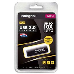 Clé USB 3.0 Integral noire - 128 Go (photo)