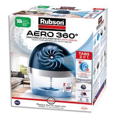 Absorbeur d'humidité RubsonAero 360 degrés - pour 20 m² - une recharge inclue (photo)