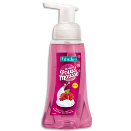 Pouss'Mousse parfum framboise - flacon pompe 250 ml (photo)
