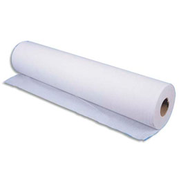 Drap d'examen pure ouate 2 plis - 135 formats 34 x 50 cm - blanc- lot de 12 (photo)