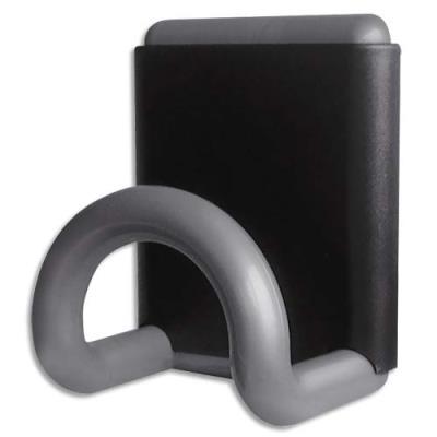 Patère magnétique gris métallisé 8x10 cm (photo)