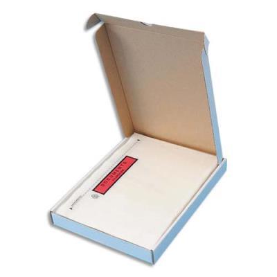 Pochettes d'expédition document ci-inclus - format 225 x 165 mm transparent - paquet de 100 pochettes