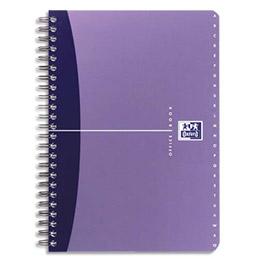 Répertoire Oxford Office - reliure intègrale - 180 pages - 9 x 14 cm - ligné 6mm - couverture polypro -