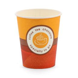 Gobelets en carton pour boissons chaudes - 15 cl - sachet de 100 (photo)