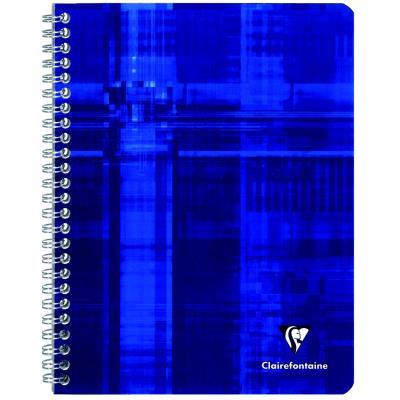 Cahier Clairefontaine Metric - reliure spirales - 21 x 29,7cm - 100 pages - grands carreaux - papier 90g