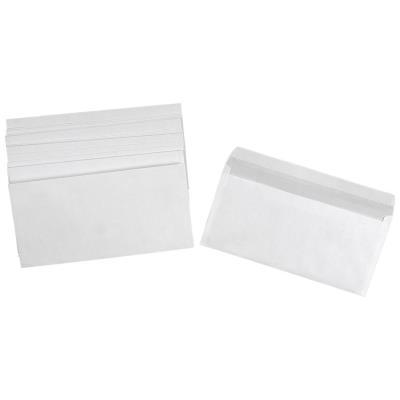 Enveloppe blanche DL 110 x 220 mm 80g - sans fenêtre - bande autoadhésive - paquet 500 unités