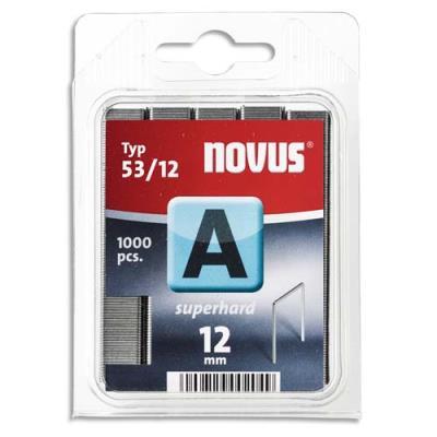 Agrafes Novus 53/12 - boîte de 1000 (photo)