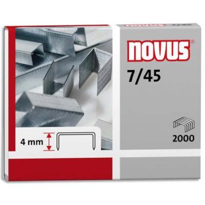 Agrafes Novus 7/45 - boîte de 2000 (photo)