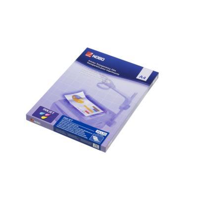 Transparents Nobo pour jet d'encre - paquet 50 unités