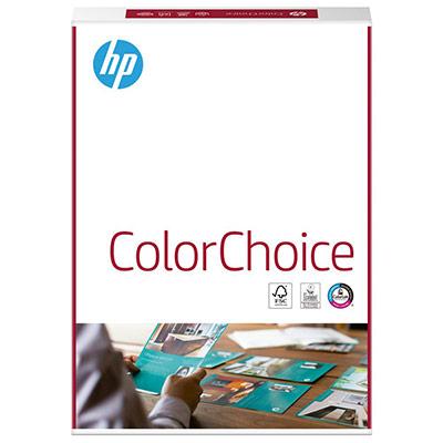 Papier A4 blanc 250g HP ColorChoice - ramette de 250 feuilles (photo)
