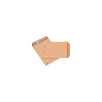 Pochette kraft blond C5 - 229 x 162 mm 90g  sans fenêtre - bande autoadhésive - paquet 50 unités (photo)