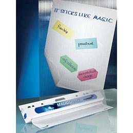 Rouleau de 25 feuilles auto-adhésives Magic Chart Legamaster - 60 x 80 cm