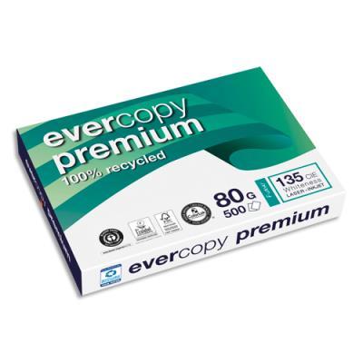 Papier recyclé Evercopy Premium - blanc - 80 g - A3 - ramette de 500 feuilles