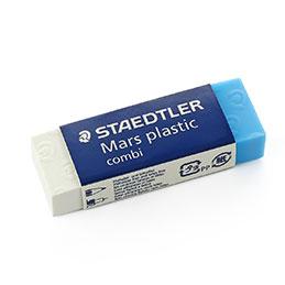 Gomme Staedtler Mars plastic combi - crayon et encre (photo)
