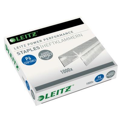 Agrafes Leitz - 23/15xL - pour agrafeuse 120 feuilles Flatclinch 5553 - boîte de 1000