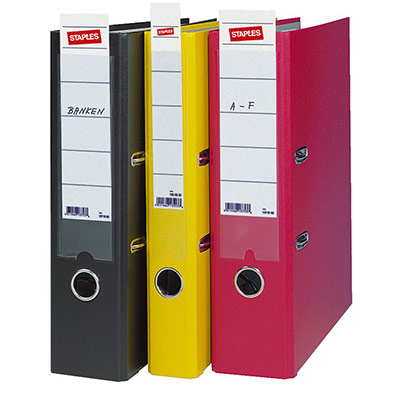 Étiquettes bristol pour classeur dos 8 cm - 190 x 54 mm - paquet 10 unités (photo)