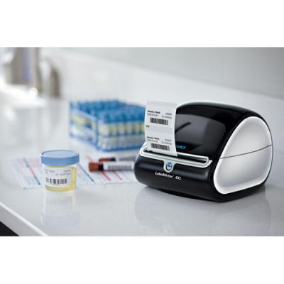Etiquette multi-usages papier 25 x 13 mm Dymo S0722530 blanche - Rouleau de 1000 (photo)